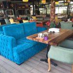 cafe koltukları, masaları
