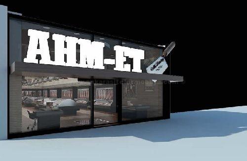 İstanbul Ahm-Et Steak House Cafe Masa Sandalye İmalatı