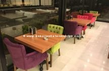 Ankara Cafe Masa Sandalye